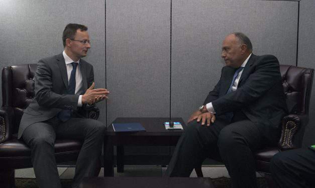 Szijjártó at talks with Vietnamese, Egyptian counterparts