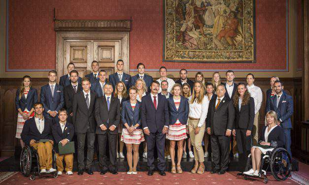 Hungary leaders present state honours to 2016 Rio Hungarian medalists – PHOTOS