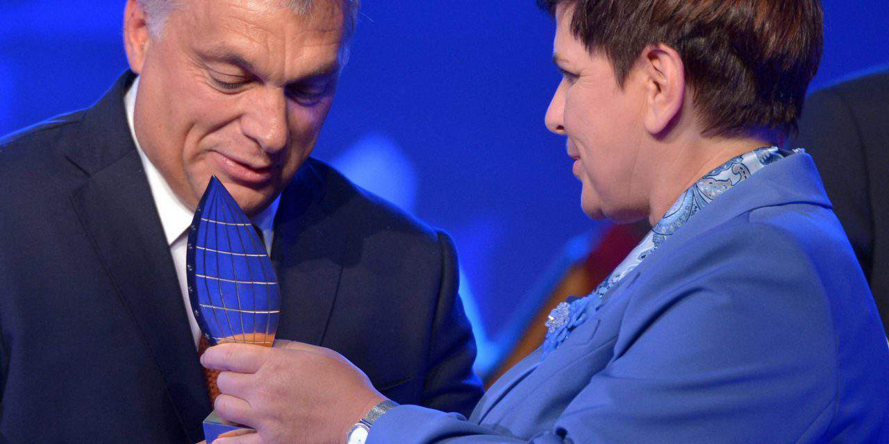 Orbán awarded Man of the Year at Krynica Forum