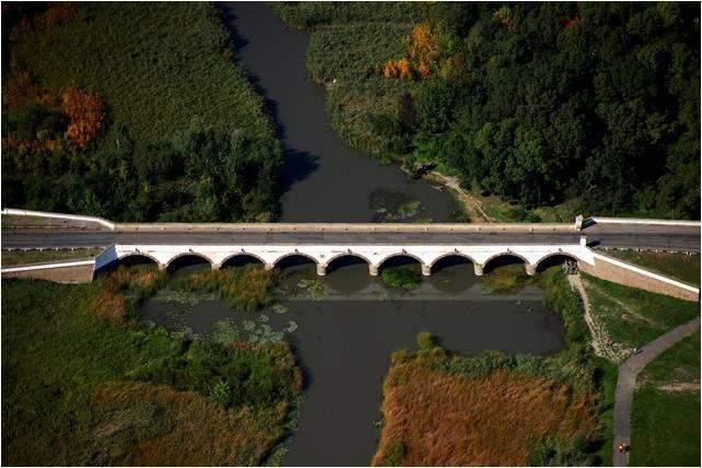 nine-hole Bridge Hortobágy