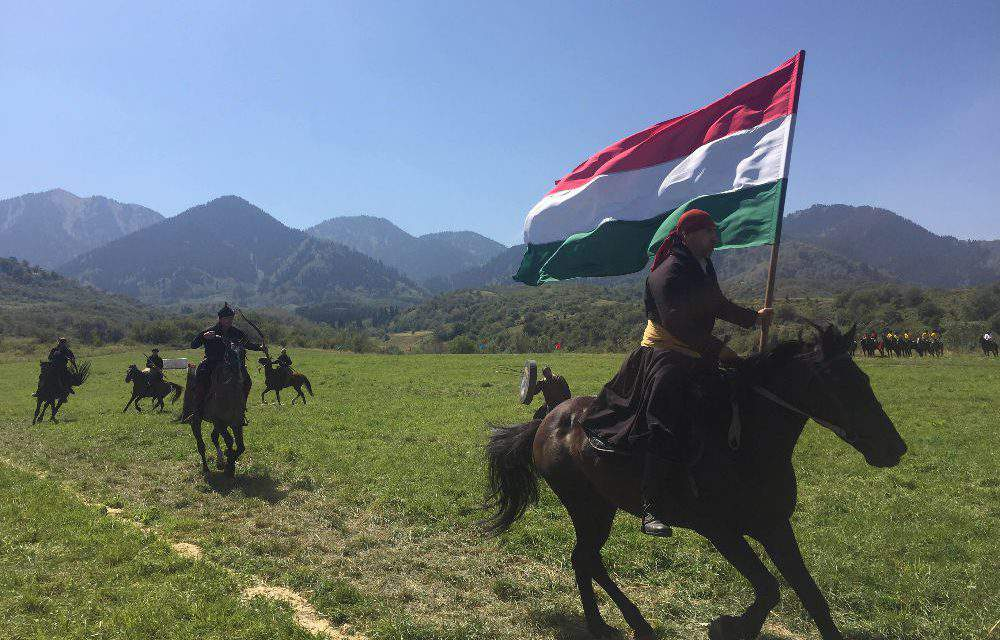 The Hungarian Turan Foundation represented Hungary at Kazakh Steppe Festival