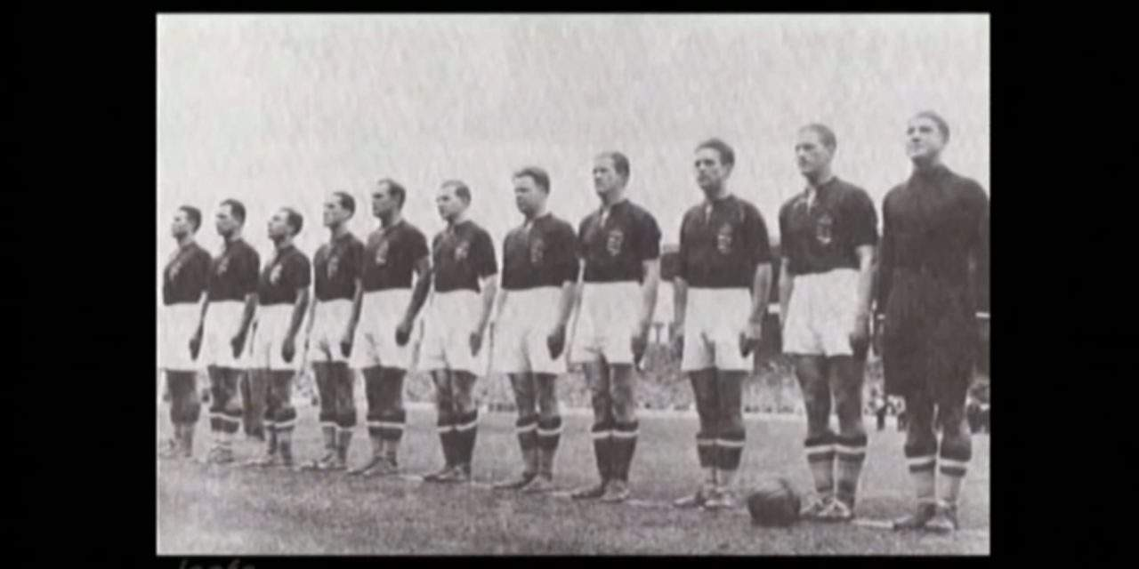 New footage of Hungary at 1938 World Cup!