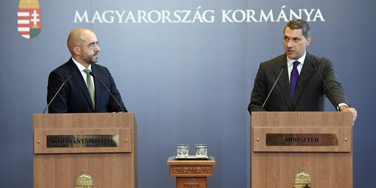 Government's regular press briefing – Defence of southern border, new Budapest hospital, constitutional amendment