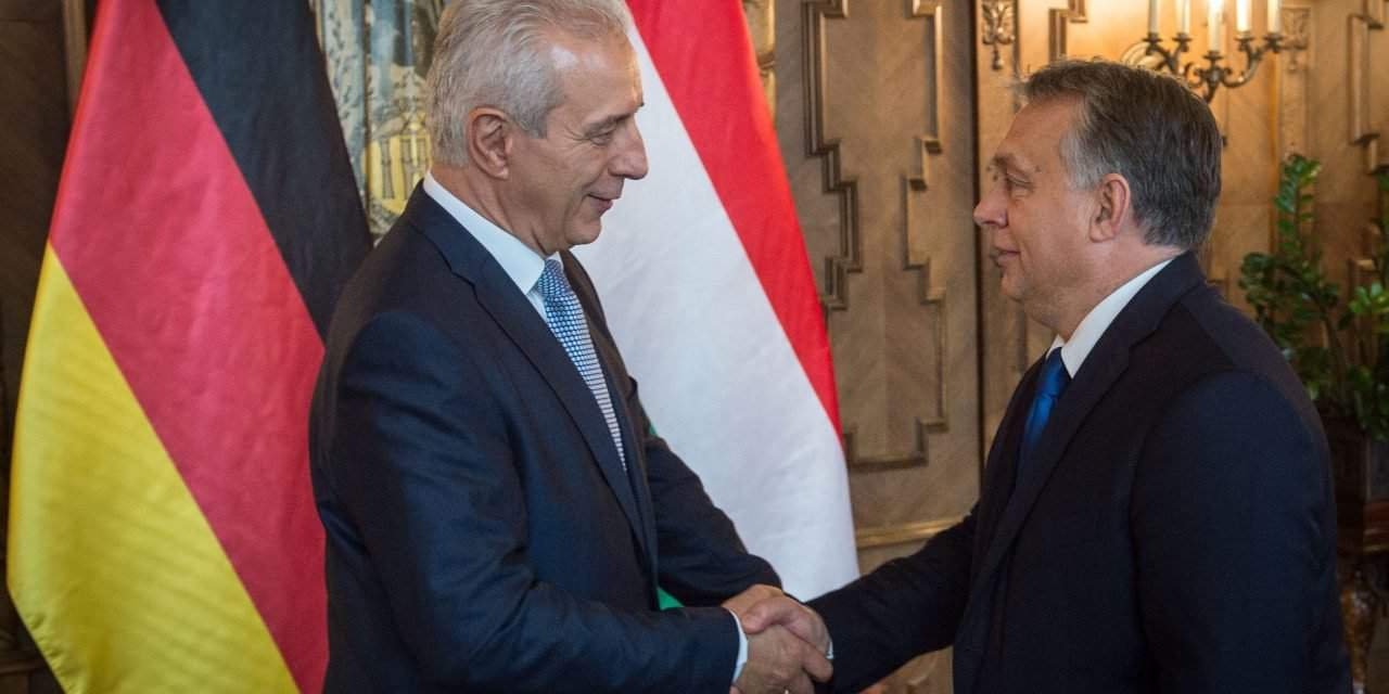 Orbán, Tillich discuss Hungary-Saxony ties
