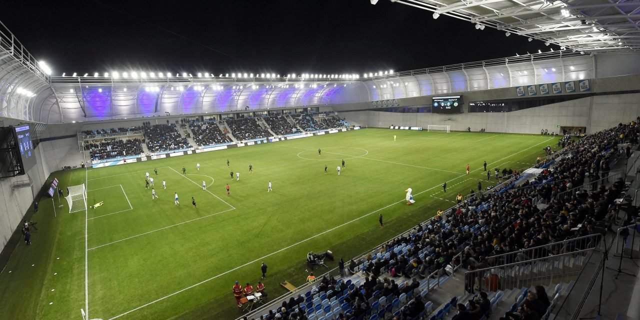 The inaugural match of MTK's stadium with Sporting Lisbon