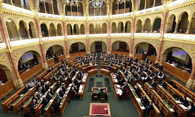 Hungarian parliament to vote on constitutional amendment on Nov. 8