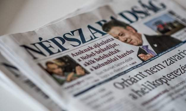 Népszabadság editors to negotiate on possible sale of paper with publisher