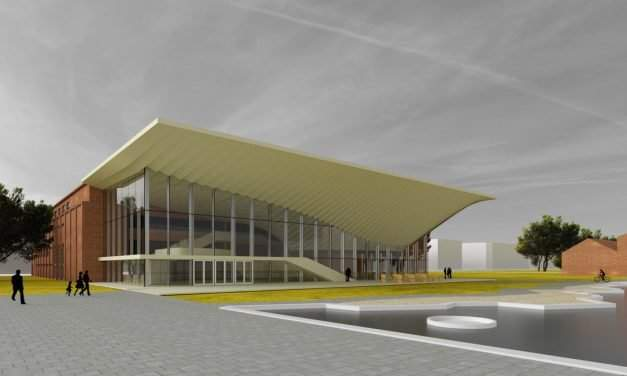 The new National Dance Theatre to be built at Millenáris