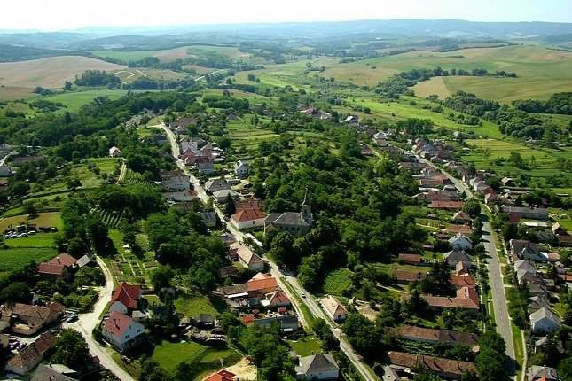 Hungary's most beautifully located village