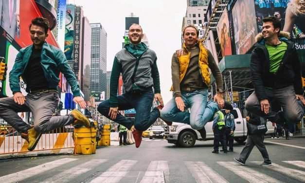 The Hungarian National Dance Ensemble dazzled pedestrians in New York – VIDEO