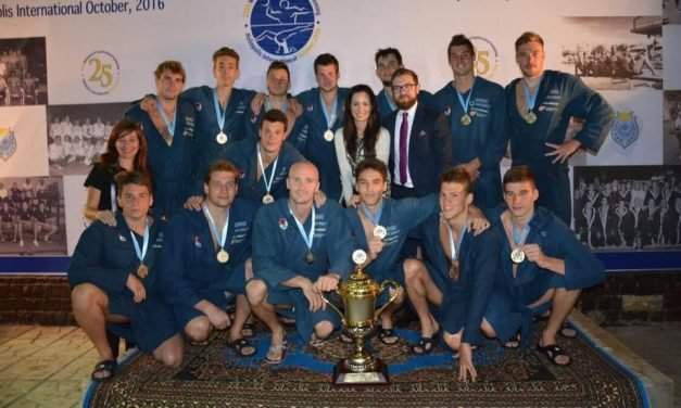 Hungary wins gold and bronze at the 2016 Heliopolis International Water Polo Championship