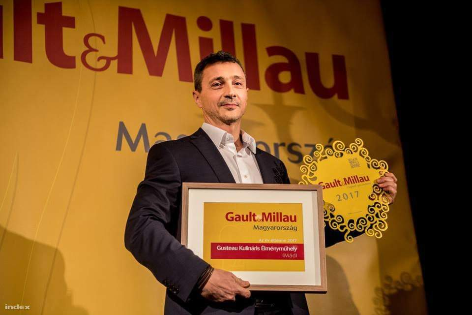 The Restaurant of the Year in Hungary, 2016: Gusteau Culinary Experience Workshop in Mád