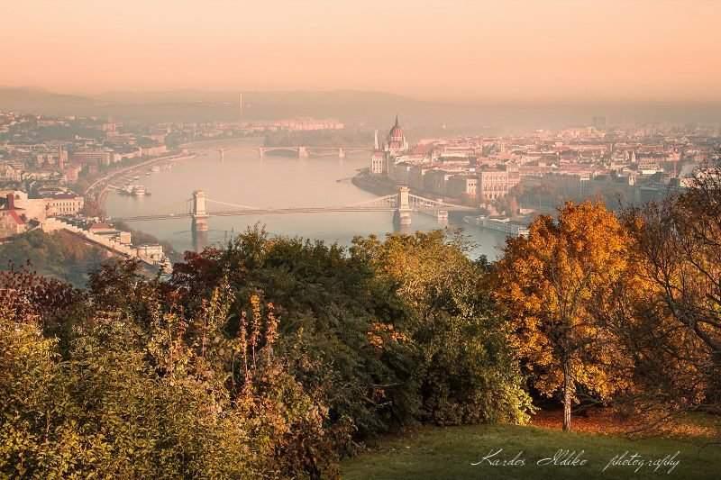 Beautiful photos of the autumnal Budapest by Ildikó Kardos – PHOTO GALLERY