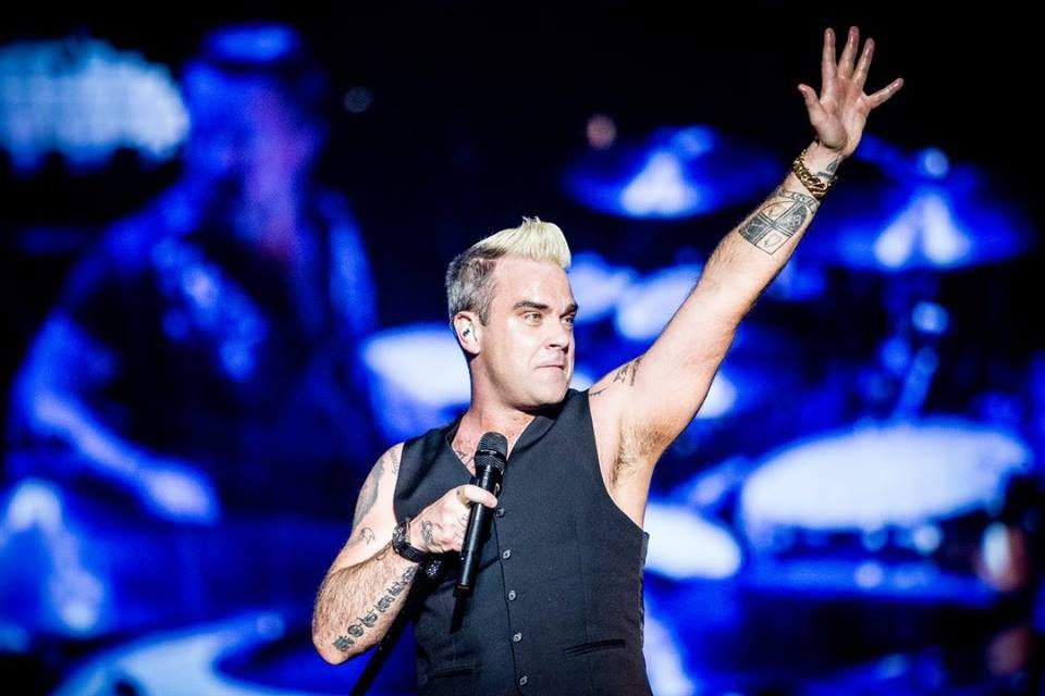 Robbie Williams is coming to Budapest