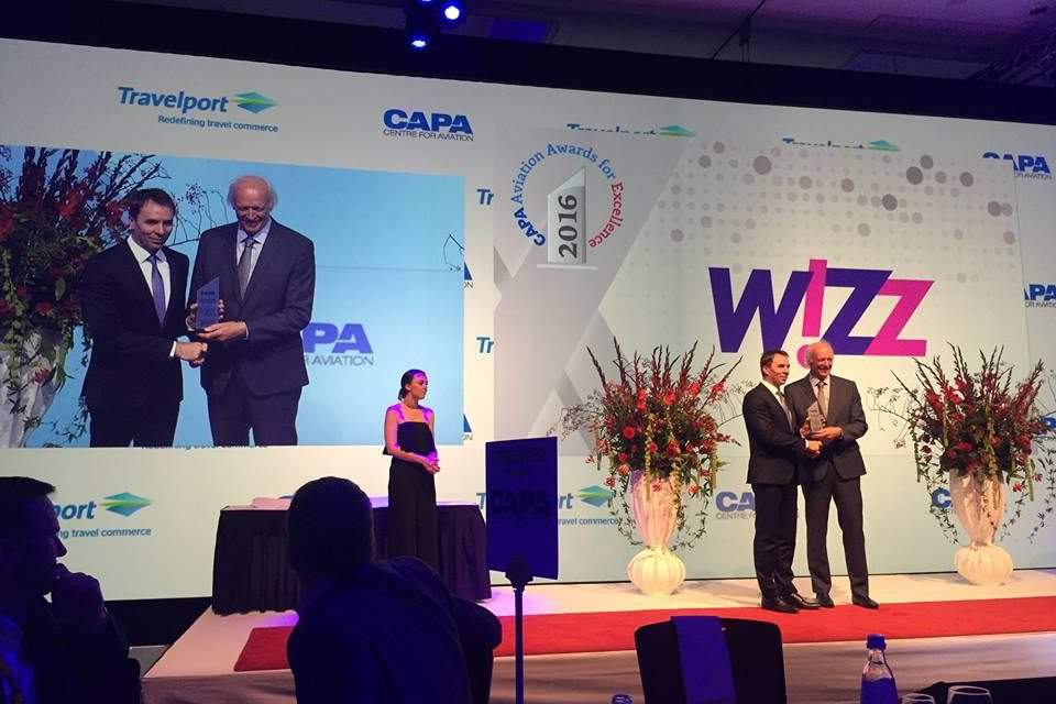 Wizz Air became the best low-cost airline company of the year