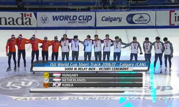 Great Hungarian successes at the Short Track World Cup in Canada