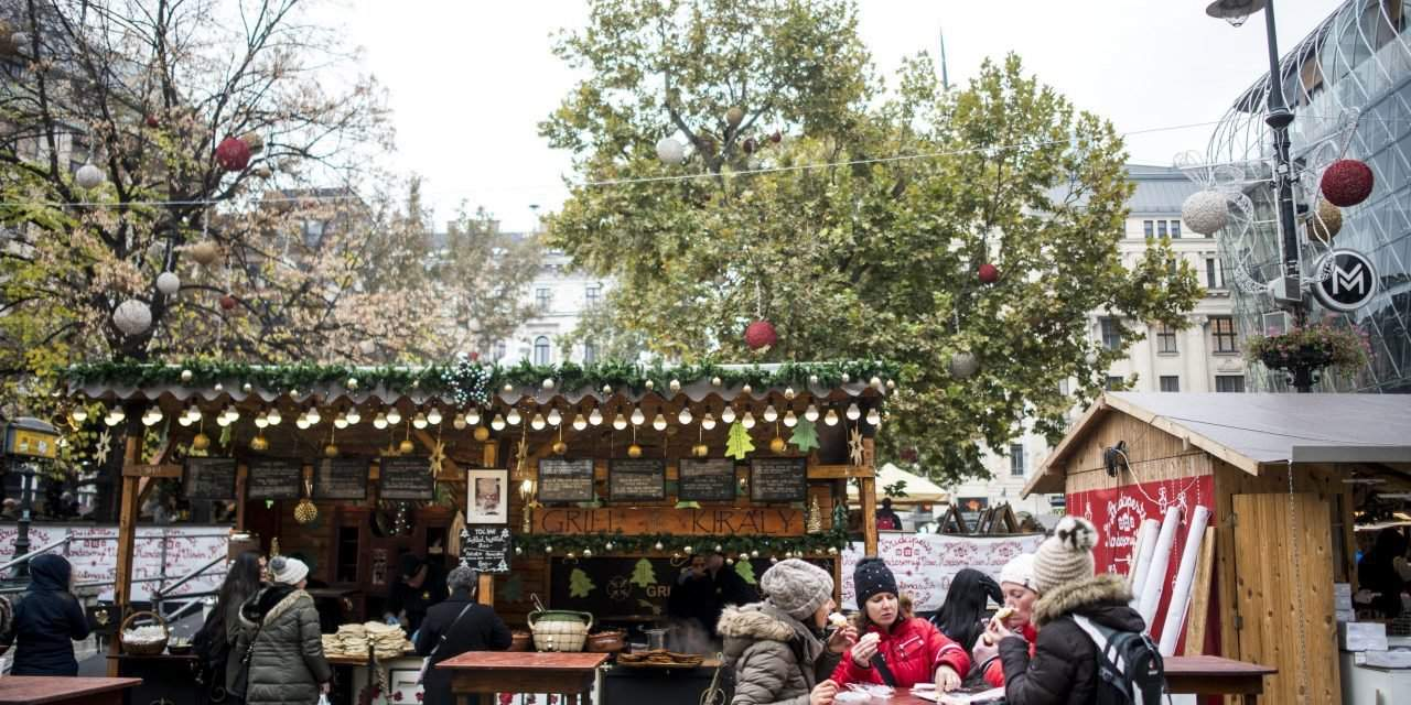 What prices can you expect at the Budapest Christmas Market?