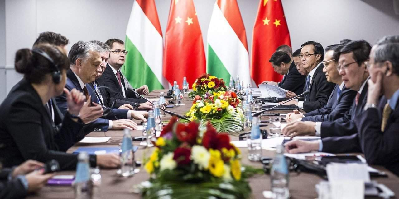 Orbán holds talks with Chinese counterpart, Huawei leaders