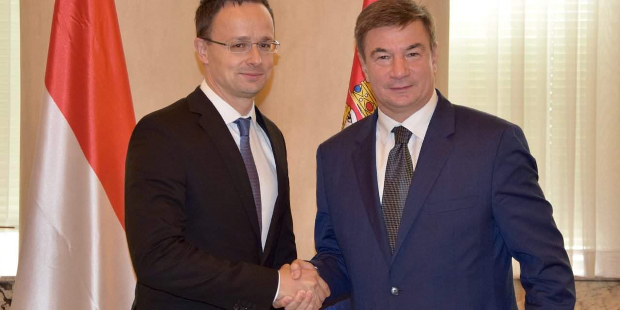 Hungarian foreign minister held talks in Belgrade