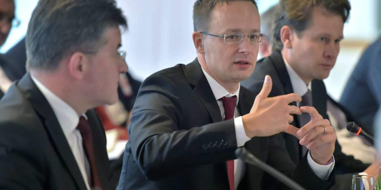 Hungarian foreign minister proposes urgent enlargement of EU