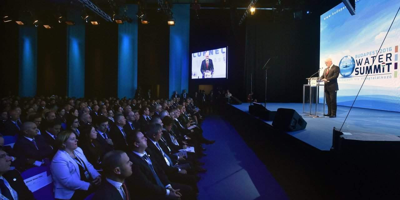 Water Summit opened in Budapest – UPDATE