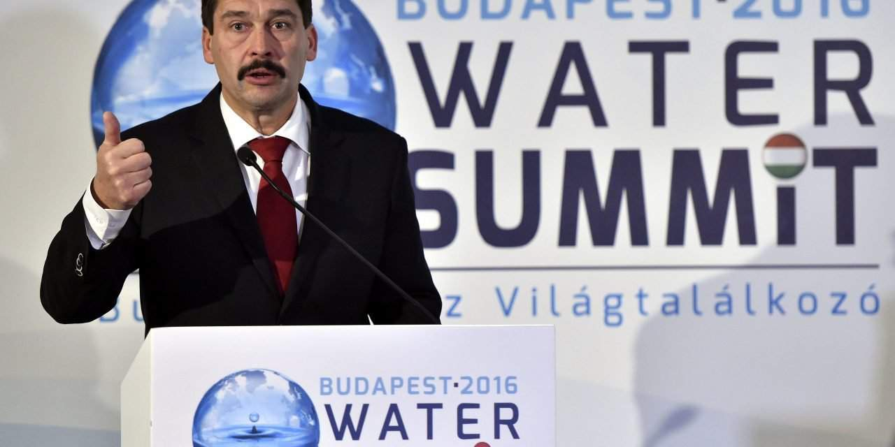 President Áder: Water Panel commits to doubling investments by 2021