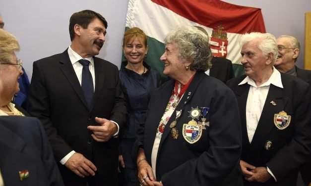 President of Hungary marks 1956 anniversary in Sydney