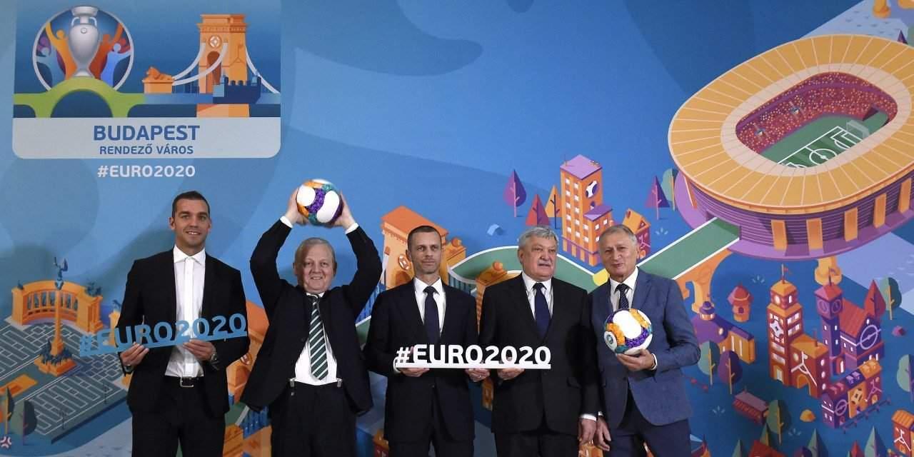 Budapest logo for UEFA Euro 2020 unveiled