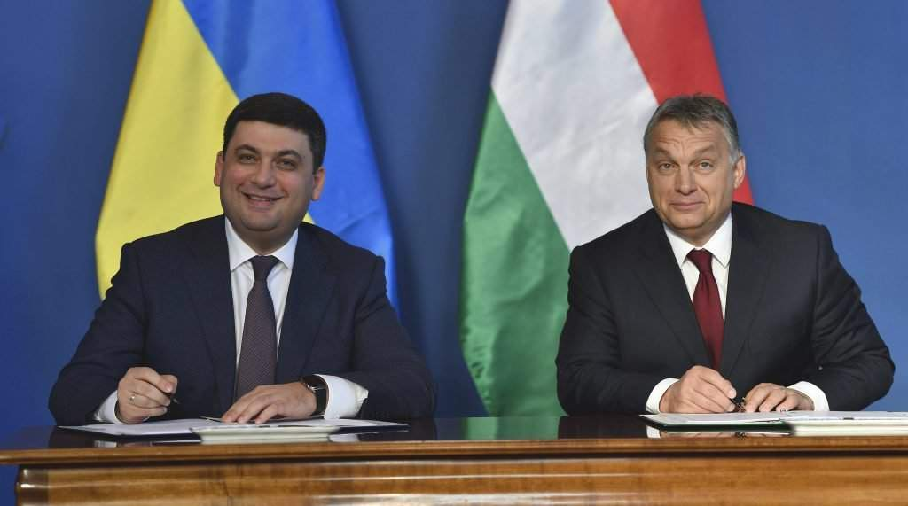 Orbán Viktor; ukraine