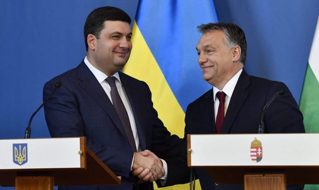 Orbán Viktor; HROJSZMAN, Volodimir