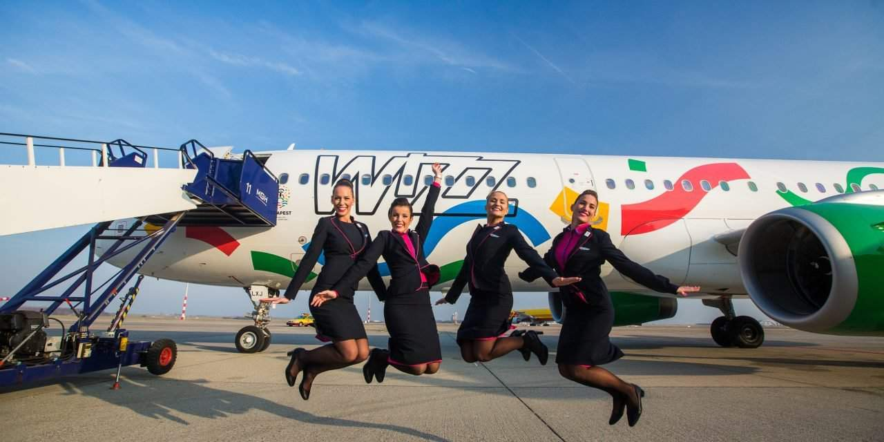 Budapest2024 design livery aircraft joins the Wizz Air's fleet