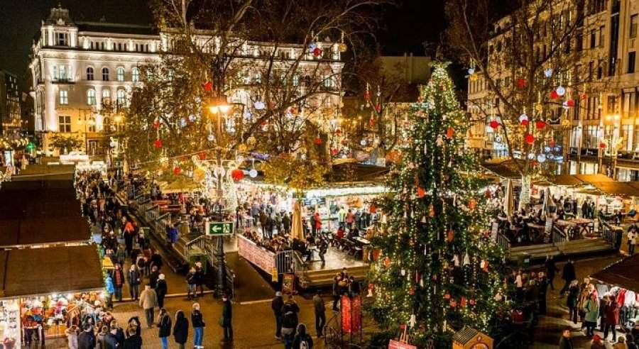 The Budapest Christmas Fair among the most magical Christmas markets in Europe