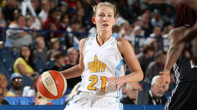 US Basketball Player Courtney Vandersloot has become a Hungarian citizen