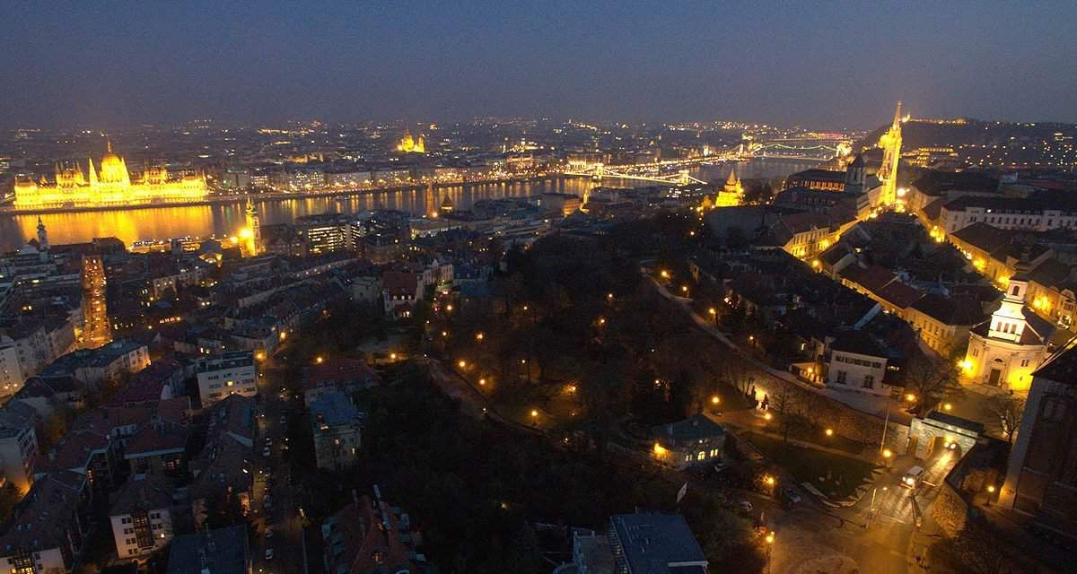Look at Budapest from 100 metres up above – VIDEO