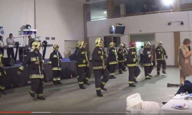 Dancing firemen are the stars of the Internet – VIDEO