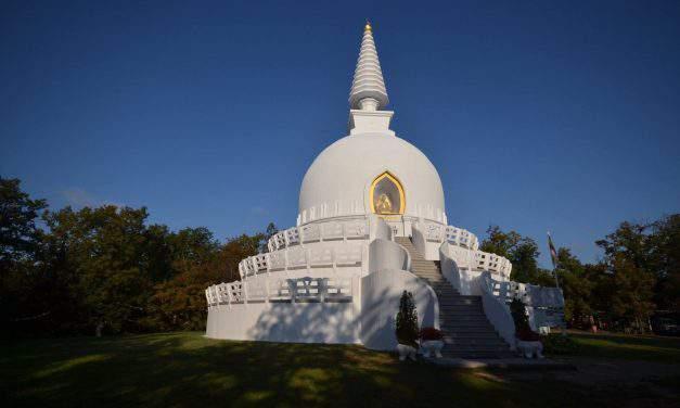 Buddhist Sanctuary worth to visit near lake Balaton