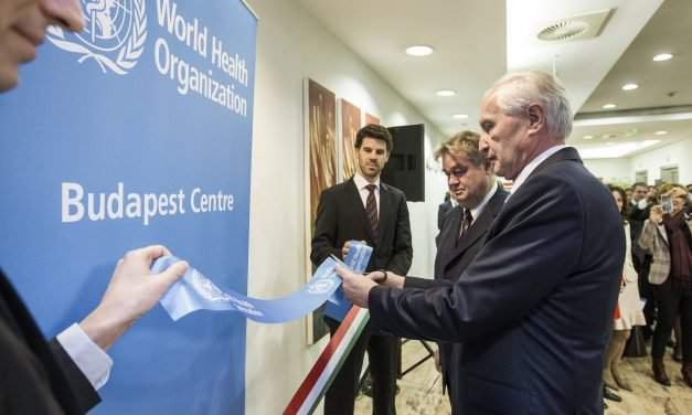 WHO opens centre in Budapest