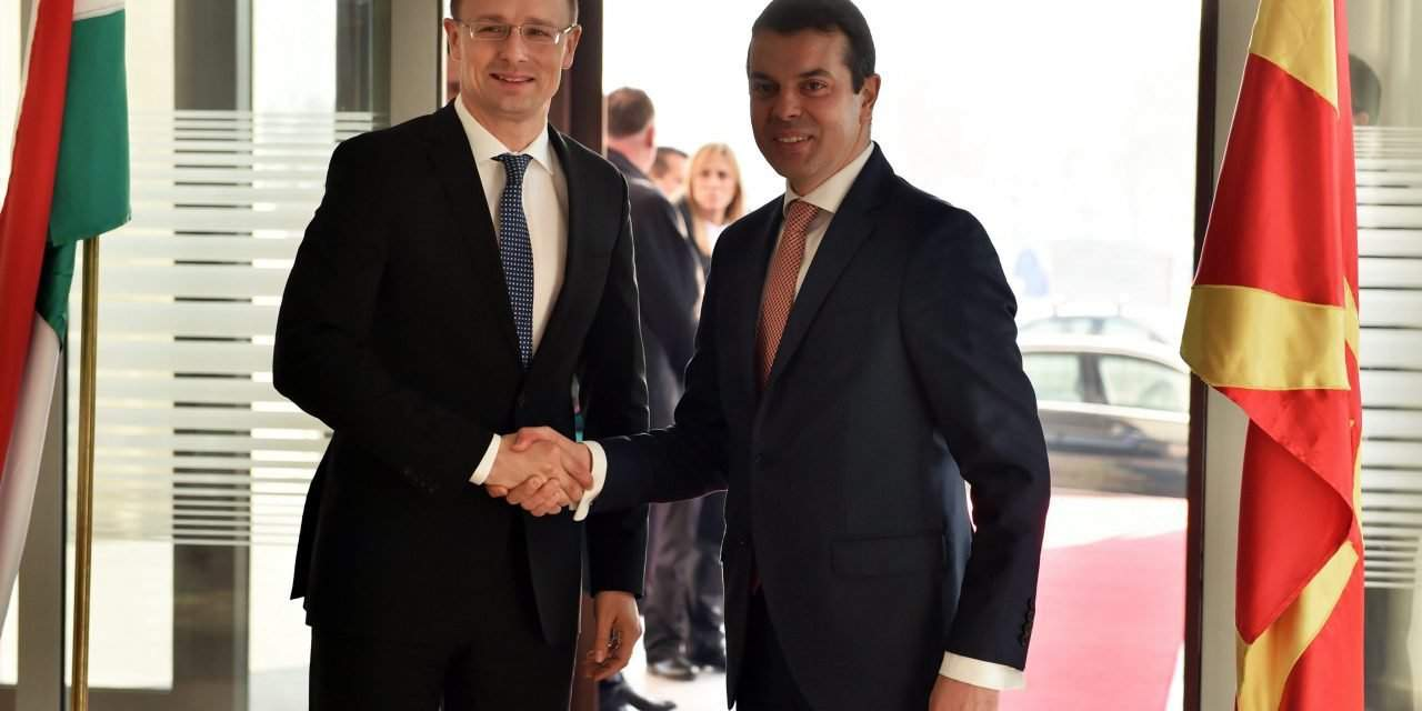 Hungarian foreign minister held talks in Skopje