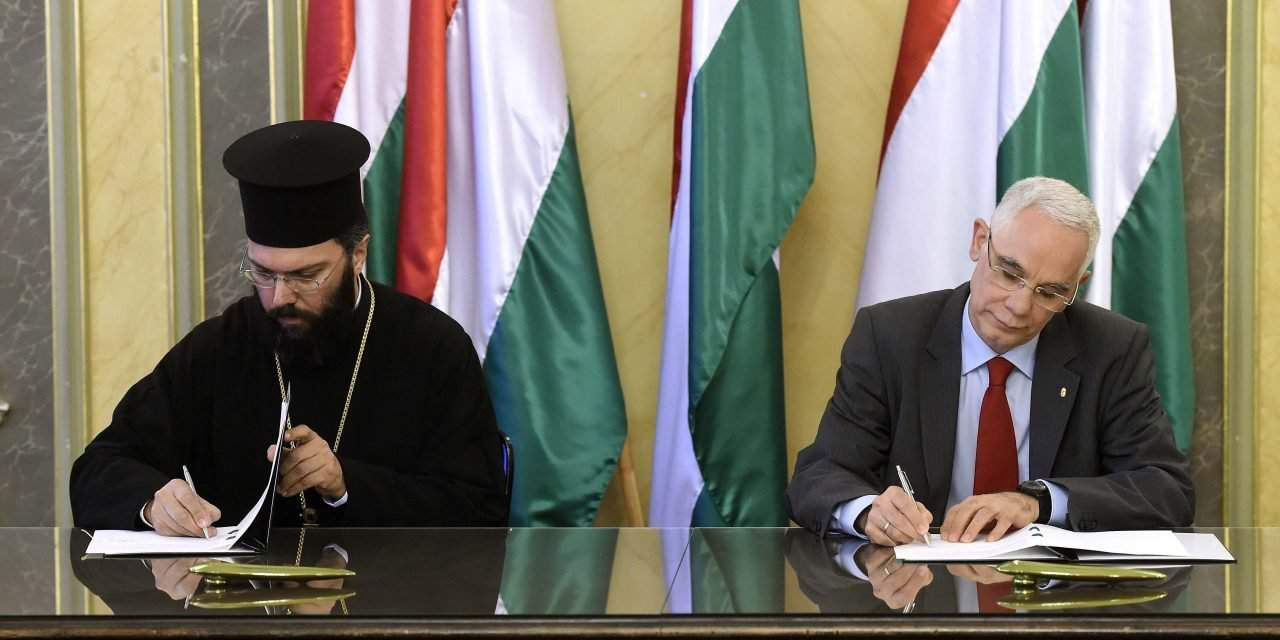Hungry signs cooperation agreement with Ecumenical Patriarchate of Constantinople
