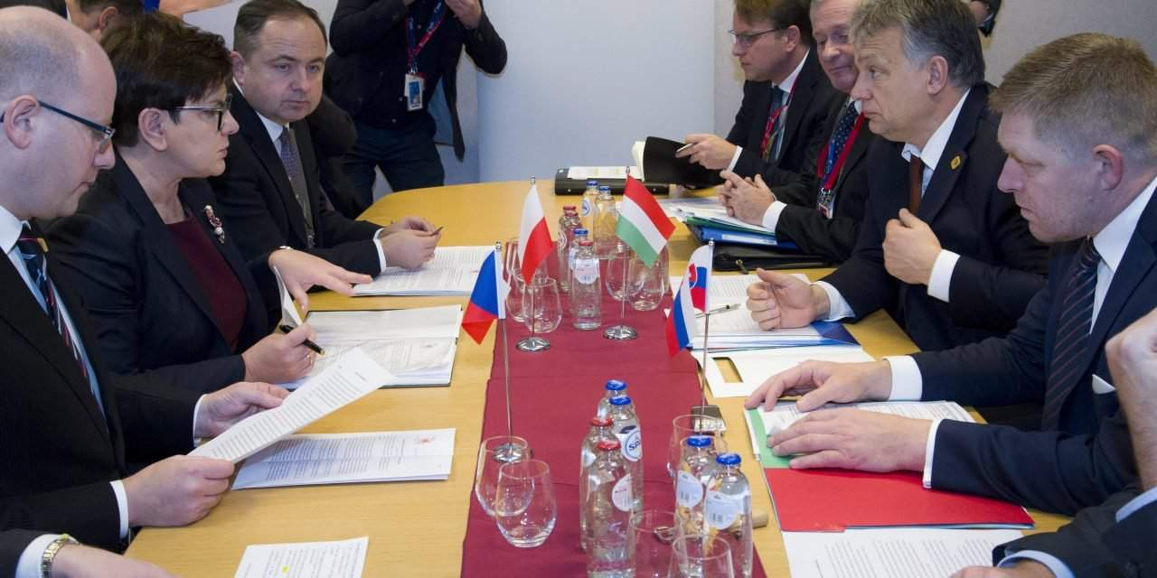V4 sign joint memorandum on migration, security, Ukraine at EU summit