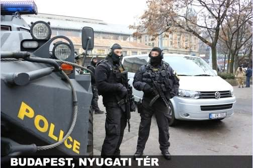 Prosecution investigators probe alleged fraud at Hungarian counter-terrorism force