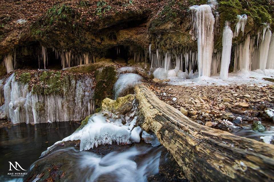 The astonishing frozen nature of Óbánya – Photo Gallery