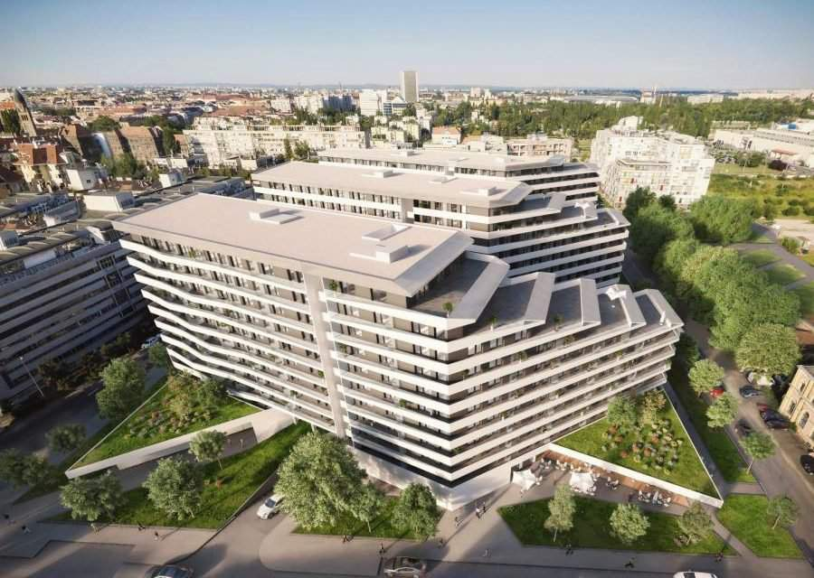 Large housing estate development project has been launched in Budapest
