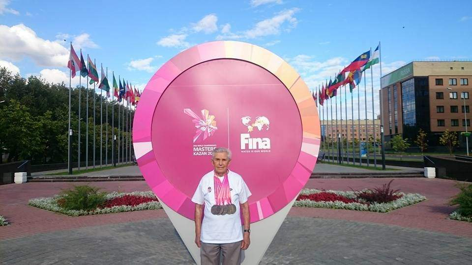 A 96-year-old Hungarian swimmer can be one of the stars of the 2017 FINA World Masters