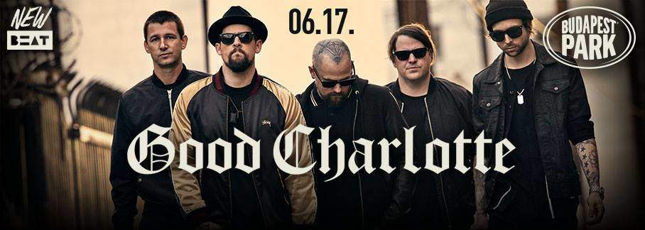 Good Charlotte is coming to Budapest