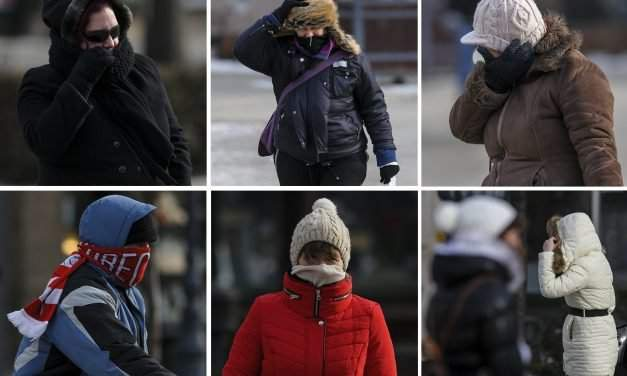 -25 Celsius in Hungary, a man frozen to death