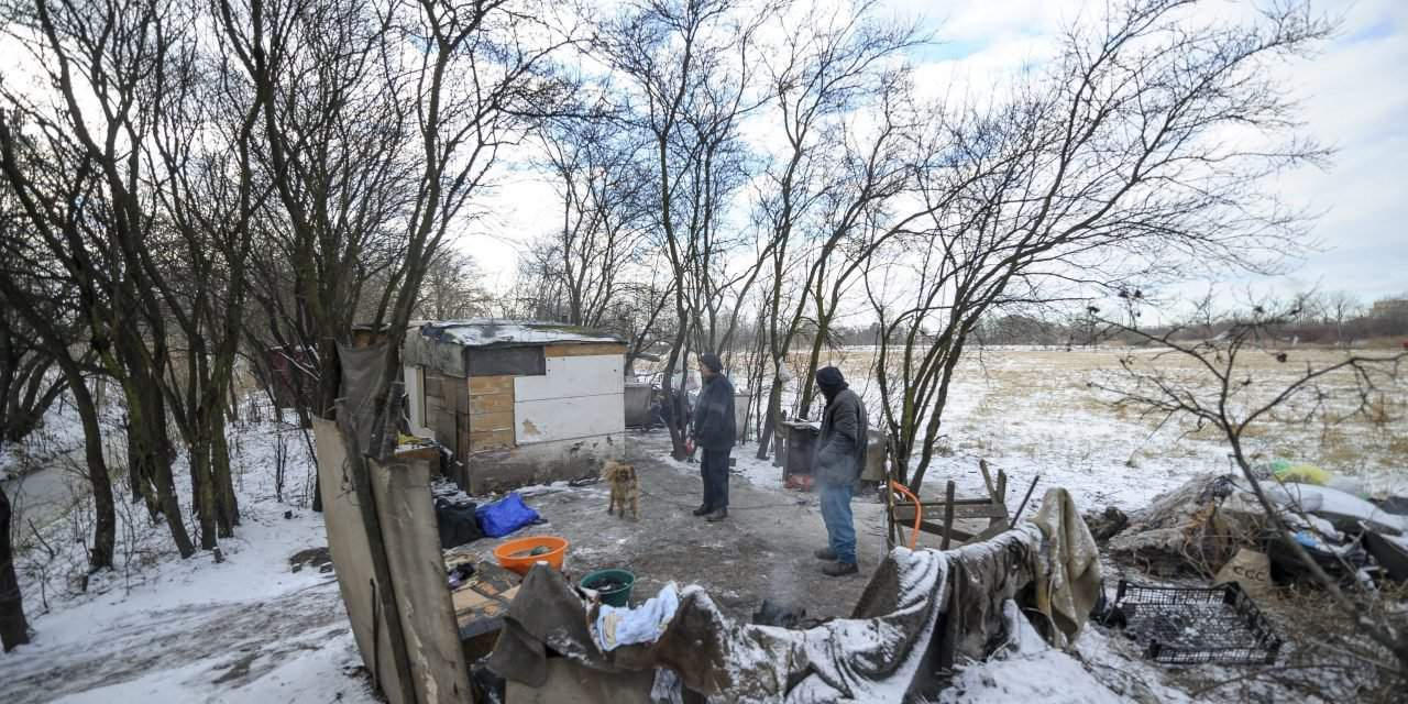 Hungary's government official praises homeless services but two homeless frozen to death