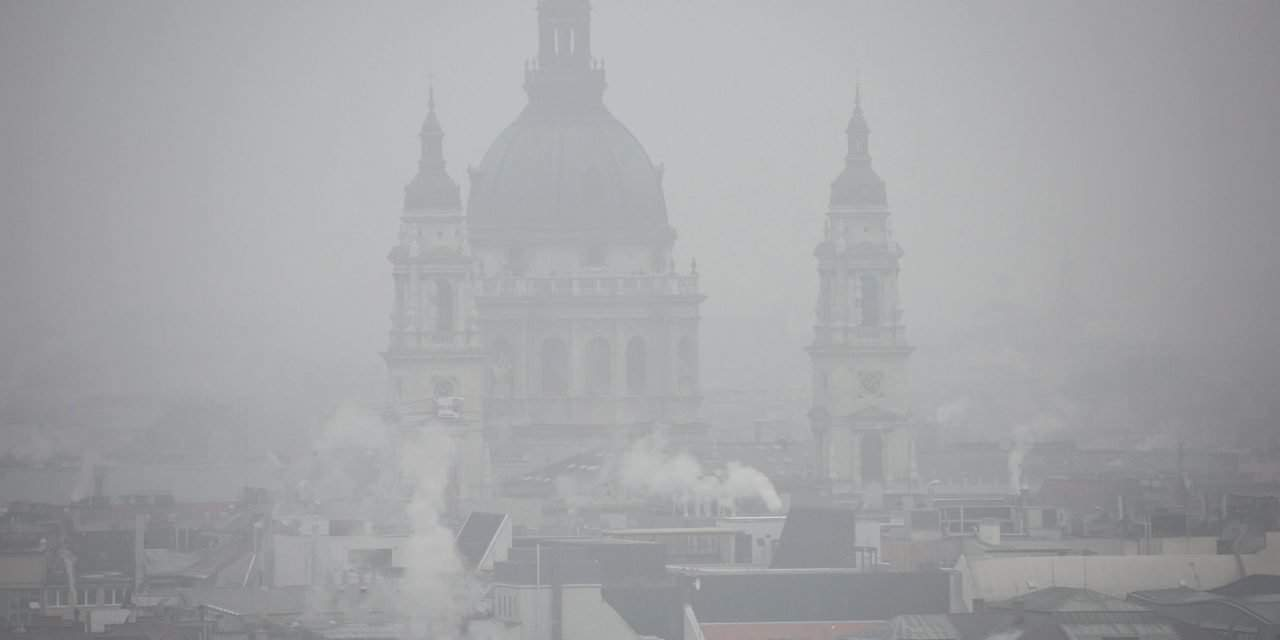 Smog alerts reduced in Hungary, check the weather forecast for Monday
