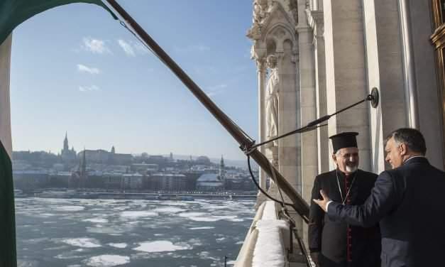 Orbán met Patriarch of the Syriac Catholic Church