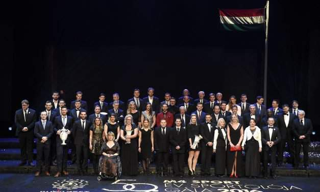 """Hungary's """"Athletes of the Year"""" elected"""